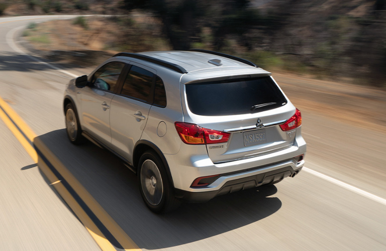 exterior rear of the 2019 Mitsubishi Outlander Sport