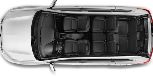 How much passenger space is there inside the 2019 Mitsubishi