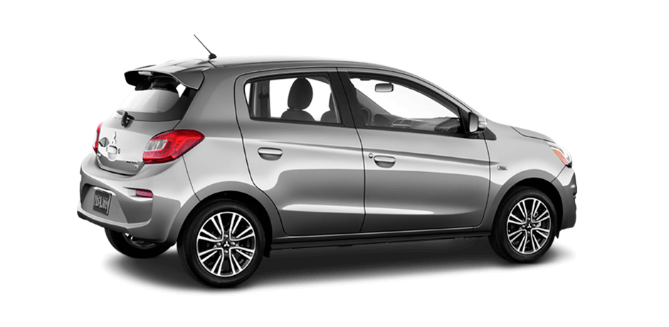 2019 Mitsubishi Mirage Mercury Gray Metallic