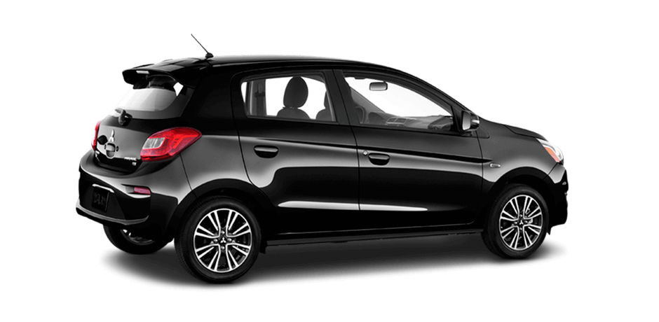 2019 Mitsubishi Mirage Mystic Black Metallic