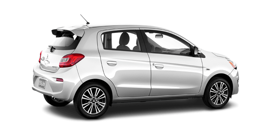 2019 Mitsubishi Mirage Starlight Silver Metallic