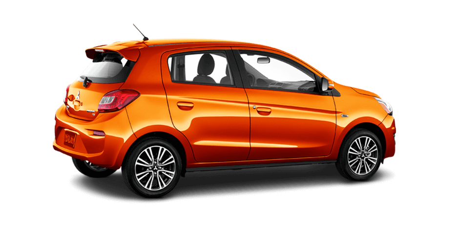 2019 Mitsubishi Mirage Sunrise Orange Metallic