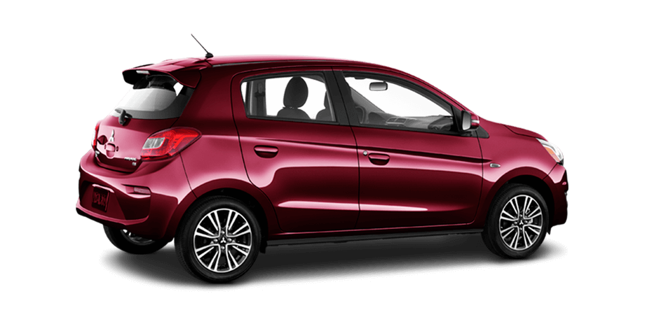 2019 Mitsubishi Mirage Wine Red Metallic