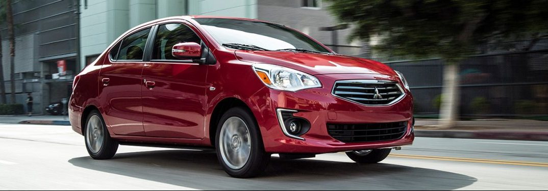 What colors does the 2019 Mitsubishi Mirage G4 come in?