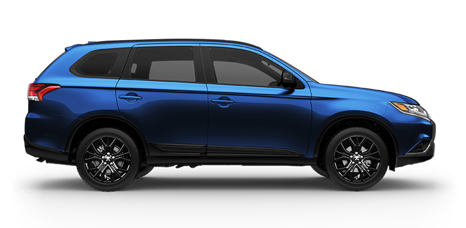 2019 Mitsubishi Outlander LE Cosmic Blue Metallic