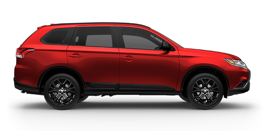 2019 Mitsubishi Outlander LE Rally Red Metallic