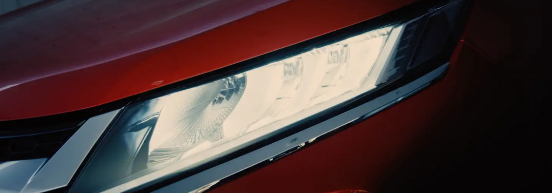 headlight of the 2020 mitsubishi outlander sport