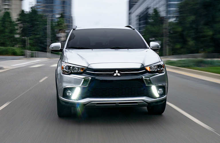 exterior front of the mitsubishi outlander sport