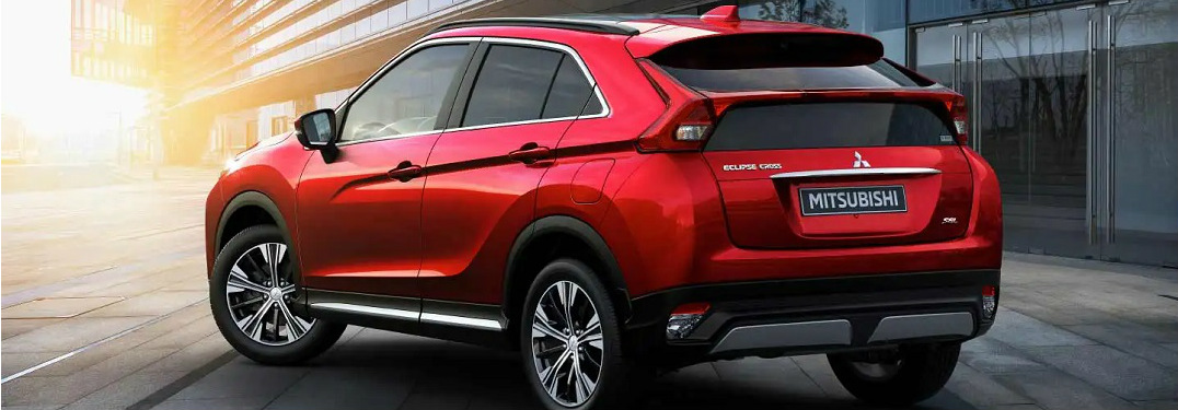 What colors does the 2020 Mitsubishi Eclipse Cross come in?