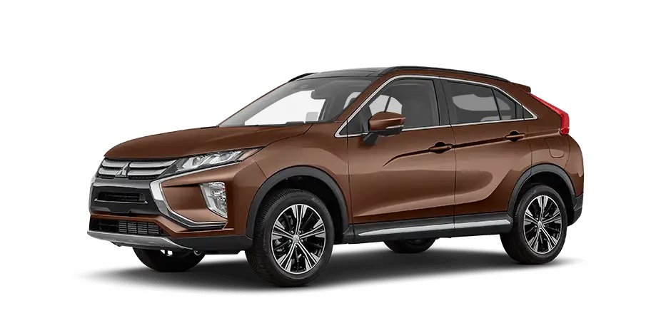 Bronze Metallic 2020 Mitsubishi Eclipse Cross.