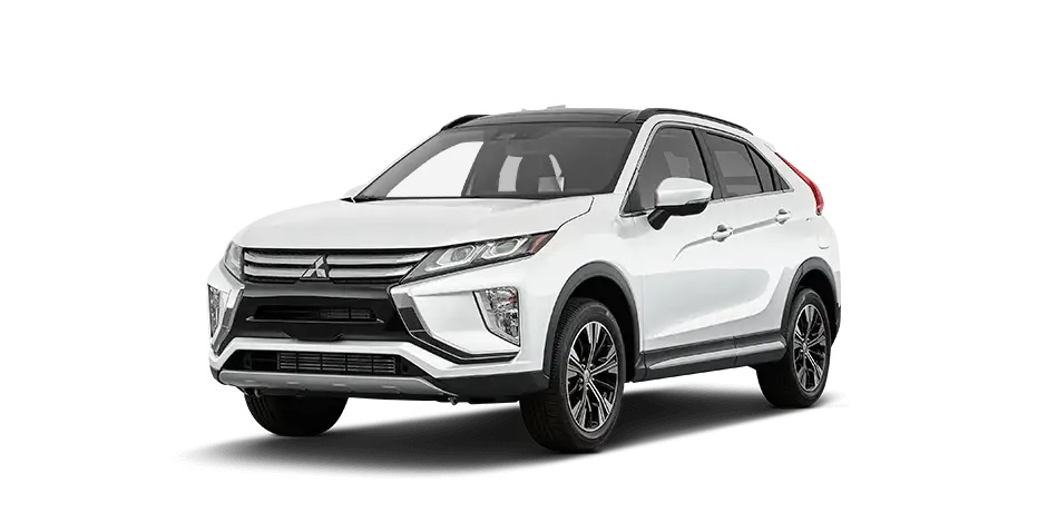 Pearl White 2020 Mitsubishi Eclipse Cross.