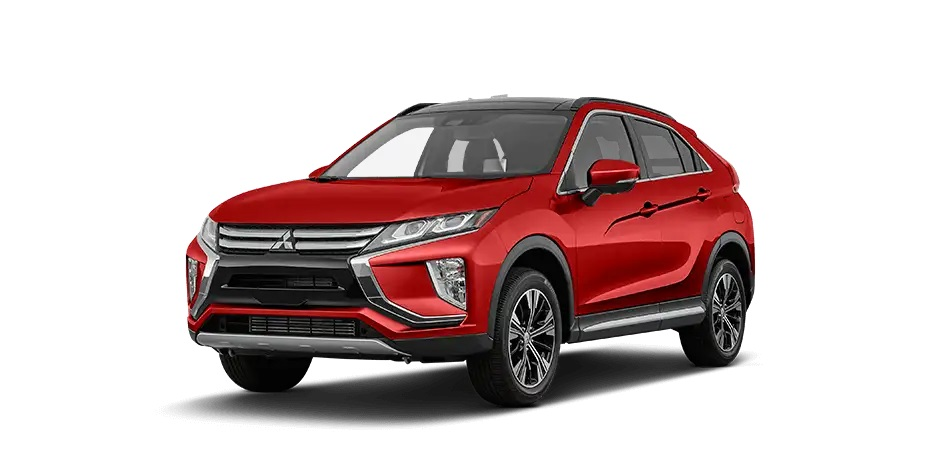 Diamond Red 2020 Mitsubishi Eclipse Cross.