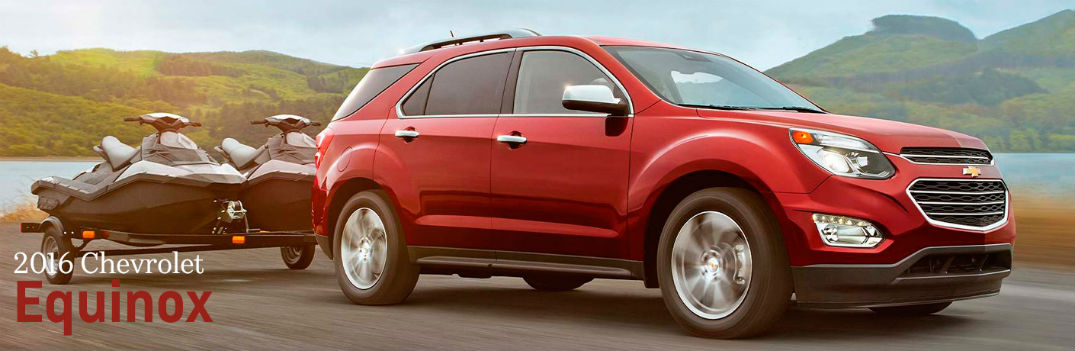 How Much Can The 2016 Chevy Equinox Tow