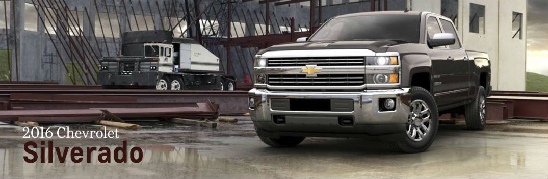 What's new on the 2016 Chevy Silverado?