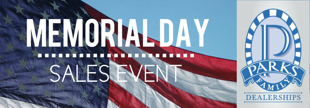 Parks Family Dealerships Memorial Day Sales Event