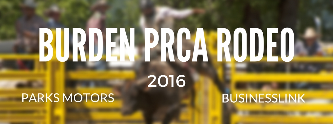 Parks Family Dealerships is the official title sponsor of the Burden PRCA Rodeo