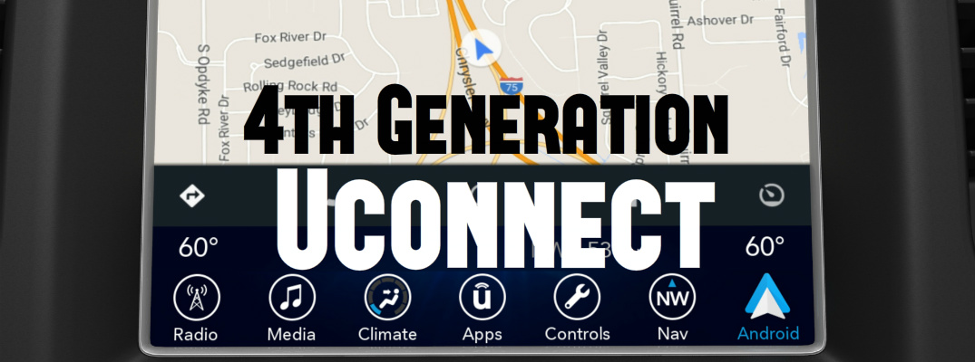 4th Generation of Uconnect Delivers Android Auto and Apple CarPlay