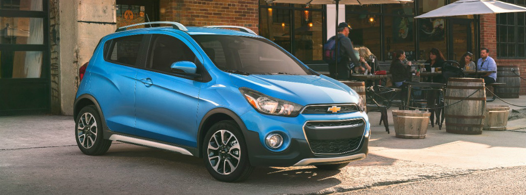 Chevy Unveils a Sportier Looking Spark