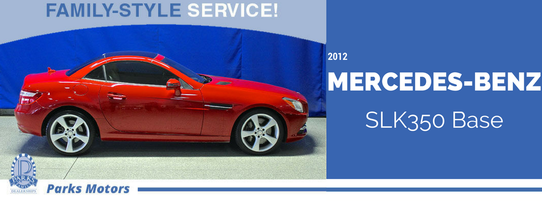 Used 2012 Mercedes Benz Slk350 Base For Sale Near Wichita Ks