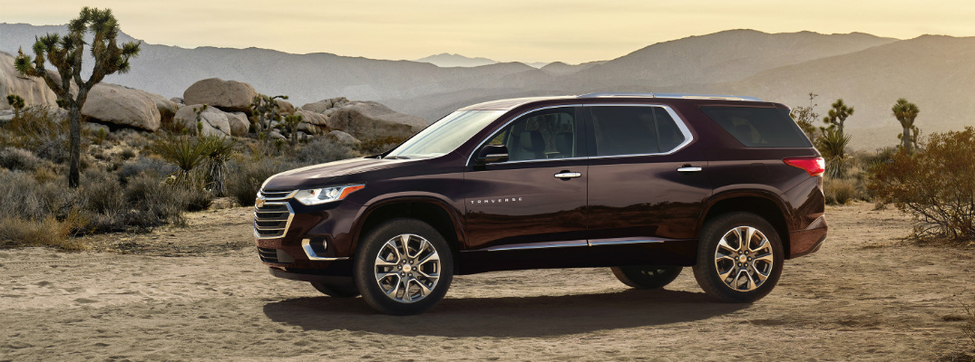 Chevy Unveils Redesigned and Upgraded Traverse for 2018