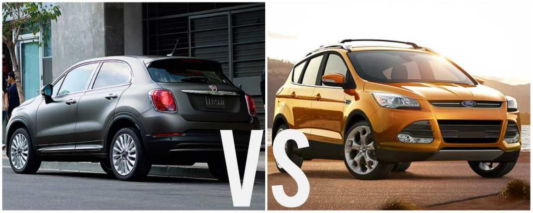 2016 Fiat 500X vs 2016 Ford Escape