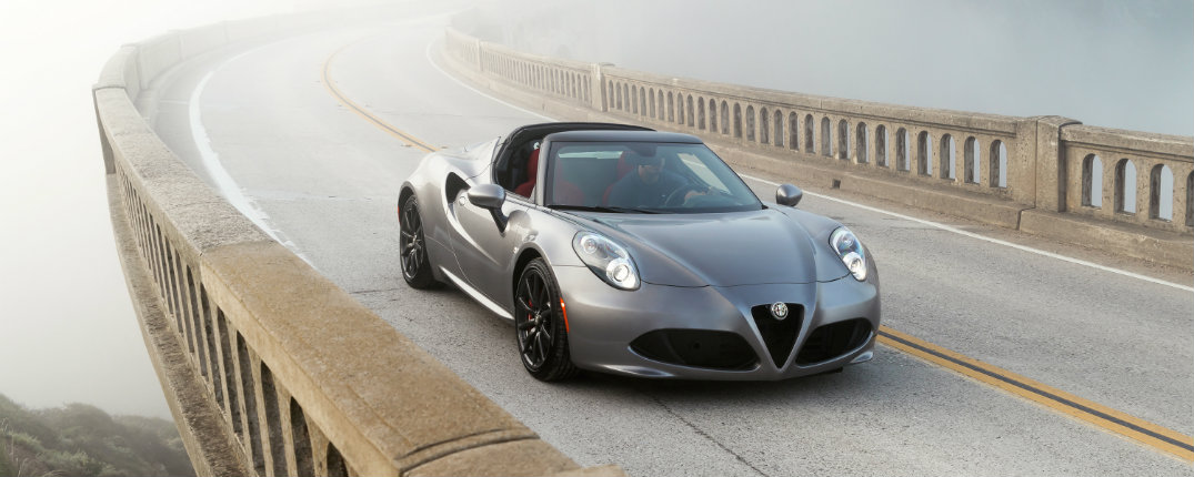 2016 Alfa Romeo 4C Updates and Features