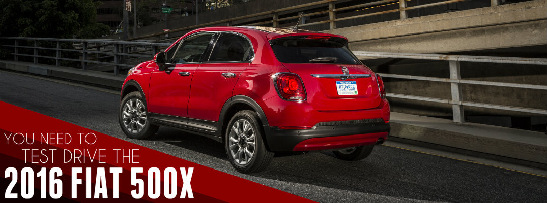 2016 Fiat 500X Test Drive and Review