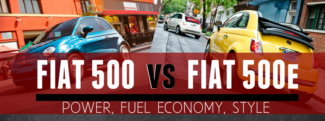 Fiat 500 vs Fiat 500e Engine Specs