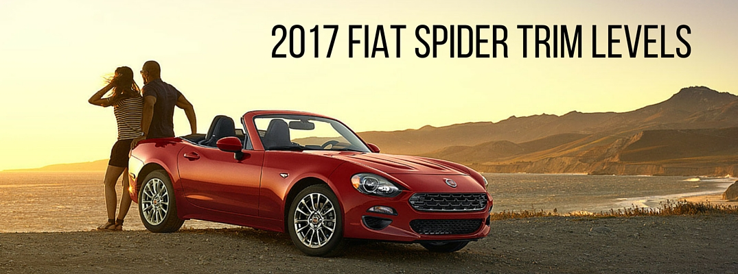 2017 Fiat 124 Spider Trim Levels