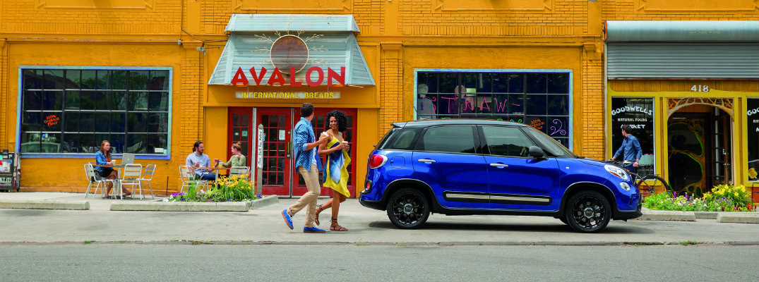 2017 Fiat 500L Color Options