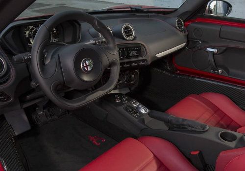 2016 Alfa Romeo 4C Interior And Luxury Features