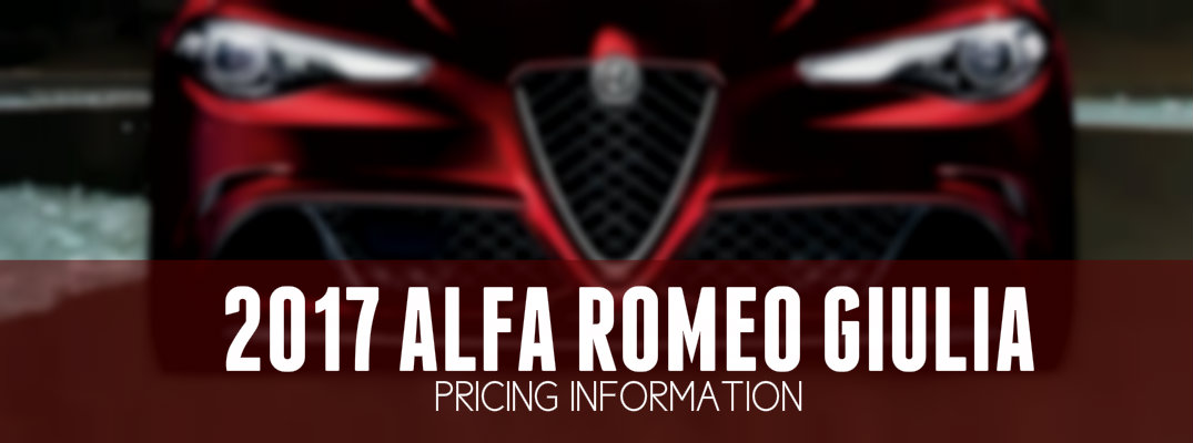 2017 Alfa Romeo Giulia Pricing Guide