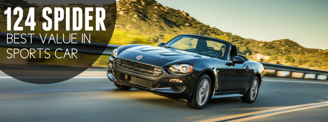 2017 Fiat 124 Spider best value sports car award