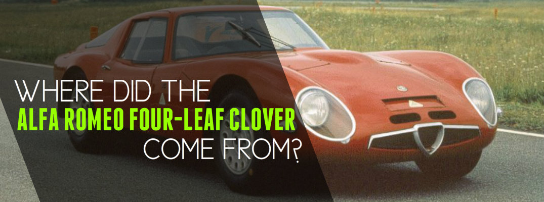 Which models have Alfa Romeo clover