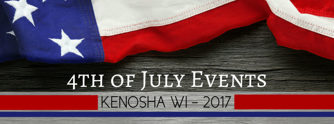 4th of july pareade and fireworks Kenosha WI 2017