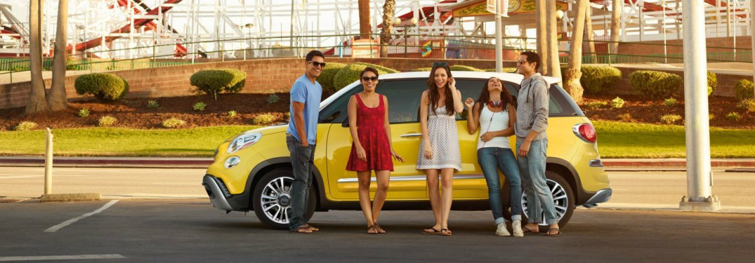 What trim levels is the Fiat 500L available in?