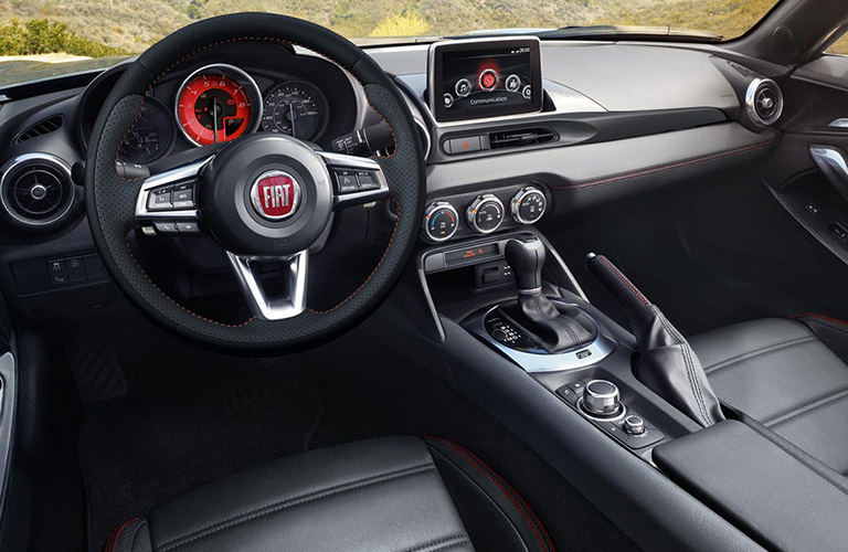 2018 Fiat 124 Spider Abarth Performance Features