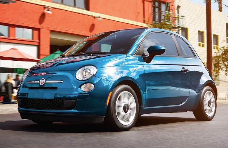 2018 Fiat 500 in Blue