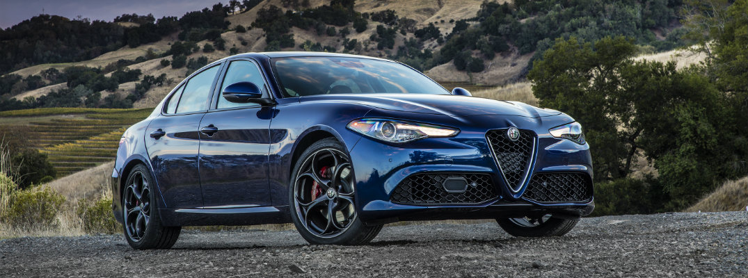 What are the Available Color Options for the 2019 Alfa Romeo Giulia?