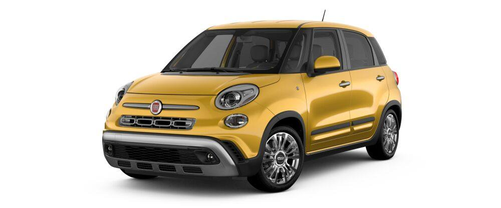 2019 Fiat 500L Trekking Yellow