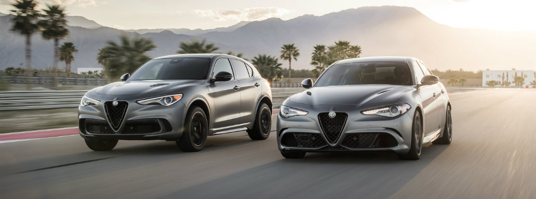 Alfa Romeo Debuts Quadrifoglio NRING Models in New York
