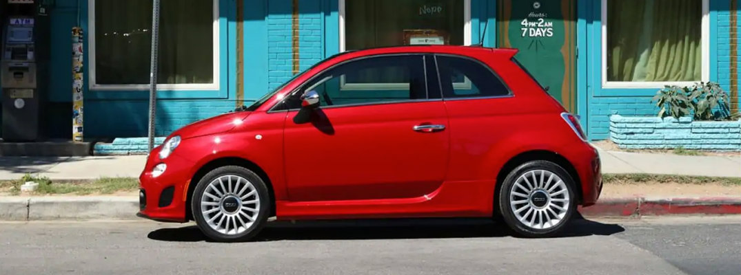 What are the Available Color Options for the 2019 Fiat 500?