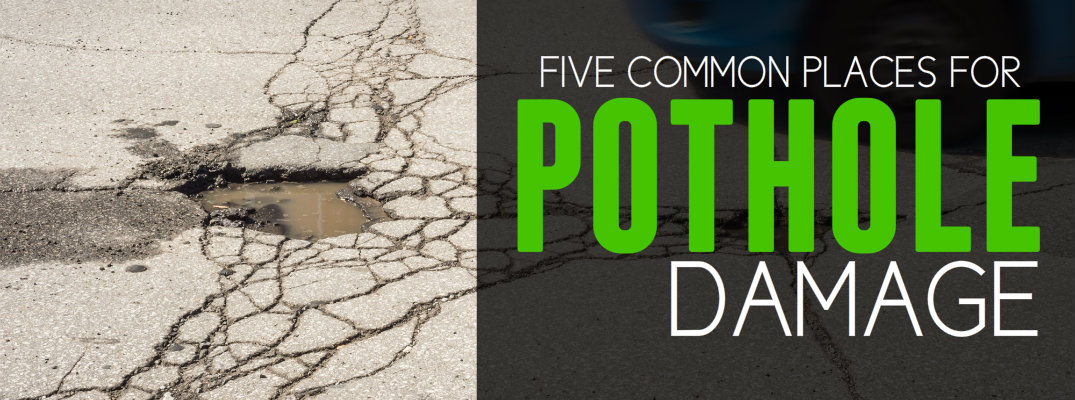 Five Ways Potholes Damage Your Vehicle