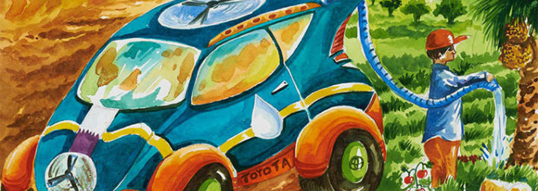 The Toyota Dream Car Art Contest Cava Toyota