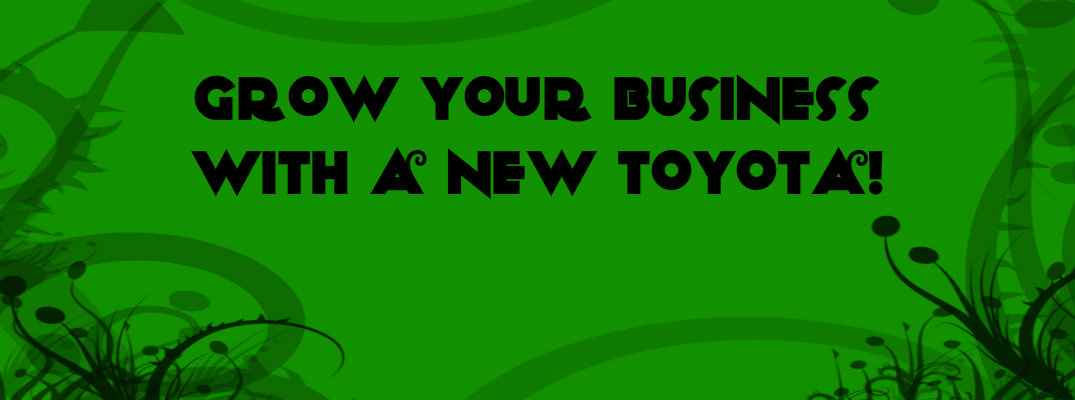 Building Your Own Business? One Of These Toyota Models Might Work For You!