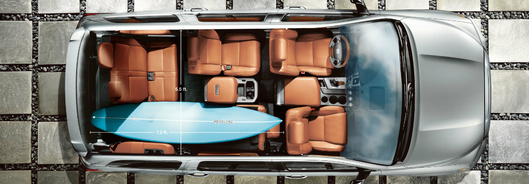 2017 Toyota Sequoia Cargo Space And Towing Capacity