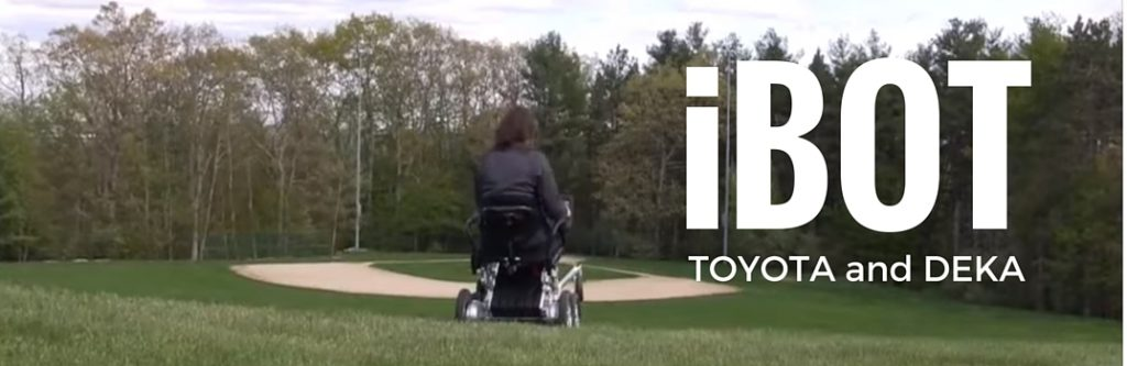 toyota deka partnership and ibot motorized stand up wheelchair o