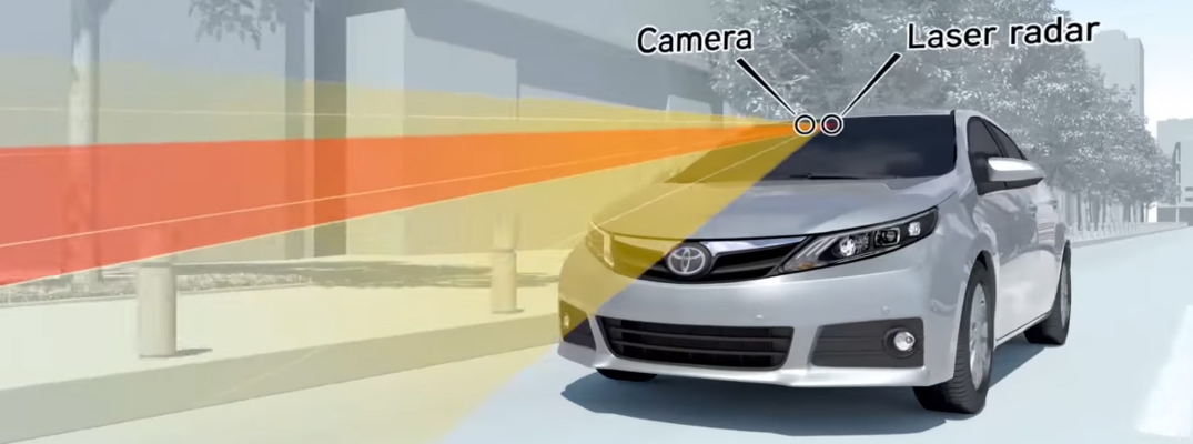 Watch Video About How the Toyota Pre-Collision System (PCS) Works