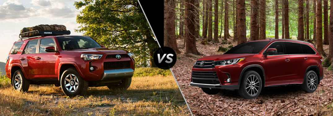 What Are The Differences Between The 2017 Toyota 4Runner And The 2017 Toyota  Highlander?