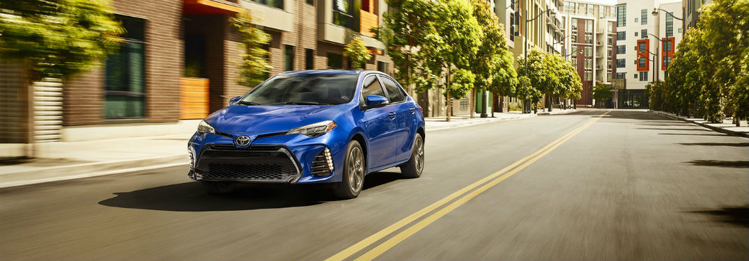 Take a Peek at the 2018 Toyota Corolla's Passenger & Cargo Capacities